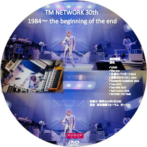 Tmnetwork30th1984dvd