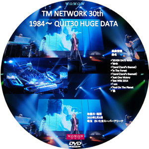 Tmnetwork30th1984quit30dvd