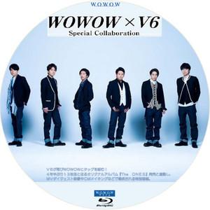 wowow×V6 bdラベル・dvdラベル: カワシンのブログ